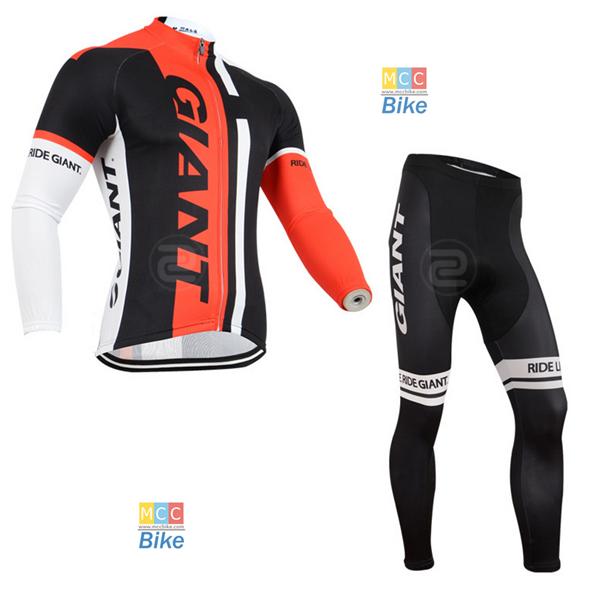 ชุดปั่นจักรยาน เสื้อปั่นจักรยาน และ กางเกงปั่นจักรยาน Giant ขนาด M