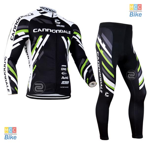 ชุดปั่นจักรยาน เสื้อปั่นจักรยาน และ กางเกงปั่นจักรยาน cannondale ขนาด L