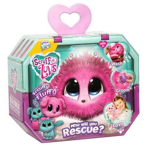 PE009 ตุ๊กตา สัตว์เลี้ยงเซอร์ไพร์ส Little Live Pets Scruff