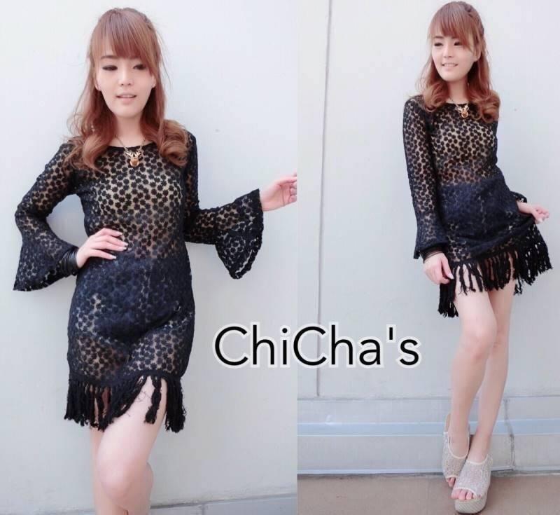 Chillin' Lace Blouse C143-57A10