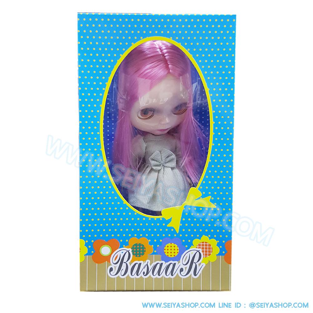 BR0004 ตุ๊กตา บลายธ์ Blythe คละแบบ 1 เซ็ท ผมสี ชมพู