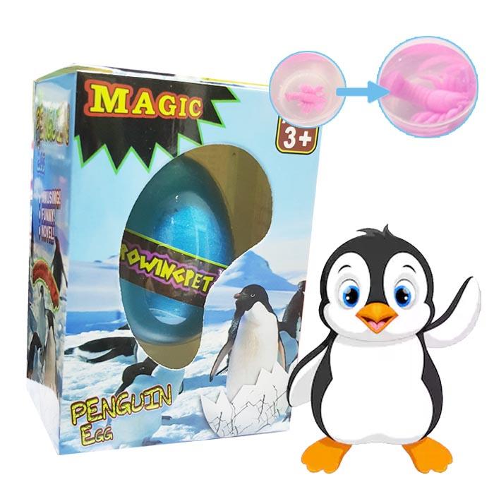 OR11 ไข่ เพนกวิน แช่น้ำ ลูกเลี้ยง ของเล่นวิทยาศาสตร์