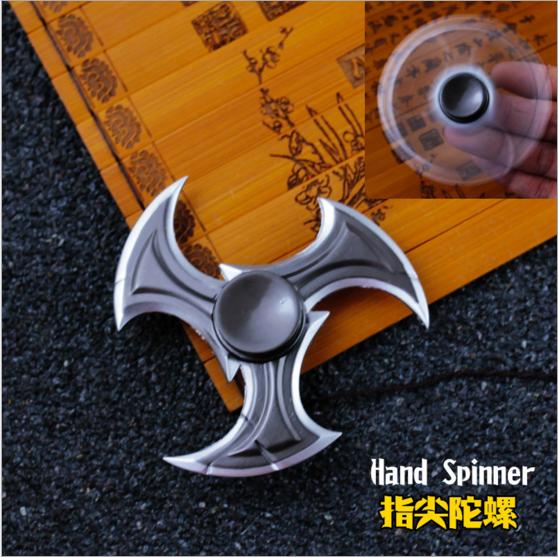 HF332 Fidget spinner -Hand spinner - GYRO (ไจโร) โลหะ ดาวกระจาย