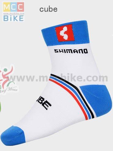 ถุงเท้าจักรยาน ถุงเท้าปั่นจักรยาน โปรทีม Shimano