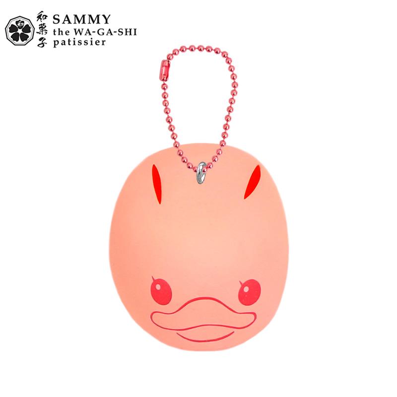 CA404 SAMMY Rabbit Pink Squishy (SOFT) 6.5 cm ลิขสิทธิ์แท้