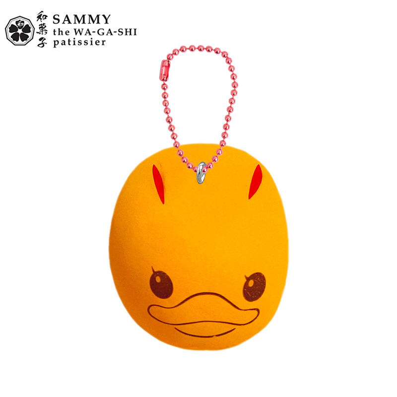 CA405 SAMMY Rabbit Orange Squishy (SOFT) 6.5 cm ลิขสิทธิ์แท้