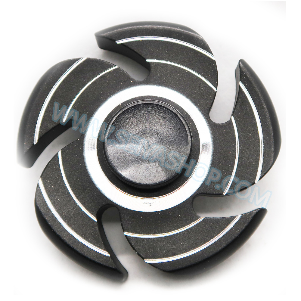 HF196 Hand spinner - GYRO (ไจโร) -Fingertip Gyroscope โลหะ รุ่น กงจักร
