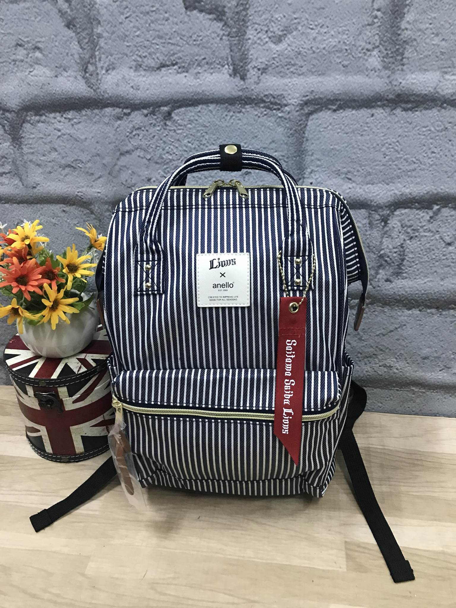 Anello X LIONS Limited Edition Stripe Backpack Rucksack