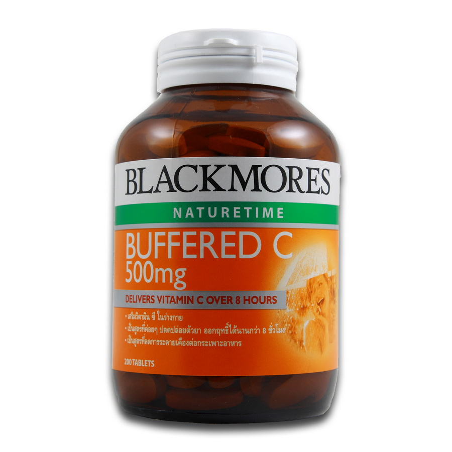 Blackmores Buffered C 500 mg 200 เม็ด