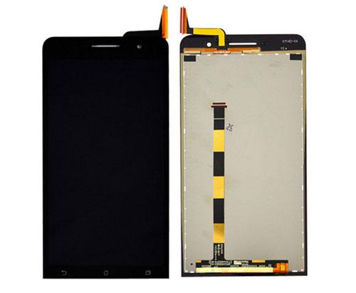 ราคาหน้าจอชุด Asus Zenfone 6 A600CG สีดำ แถมฟรีไขควง ชุดแกะเครื่อง+กาวติดหน้าจอ