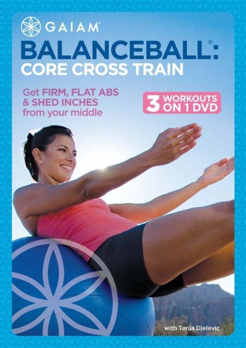 Balance Ball Core Cross Train with Tanja Djelevic