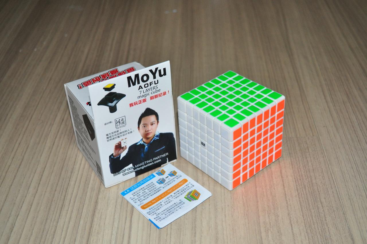 MoYu AoFu 7x7x7 GT White