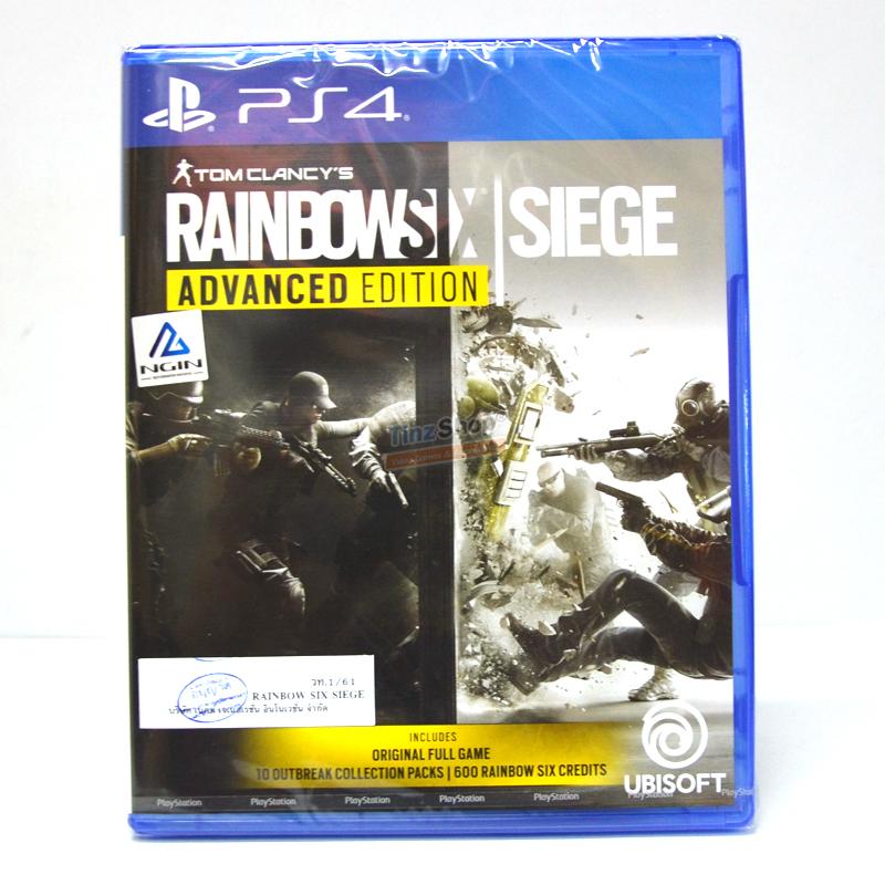 PS4™ Tom Clancy's Rainbow Six Siege: Advanced Edition Zone 3 Asia / English