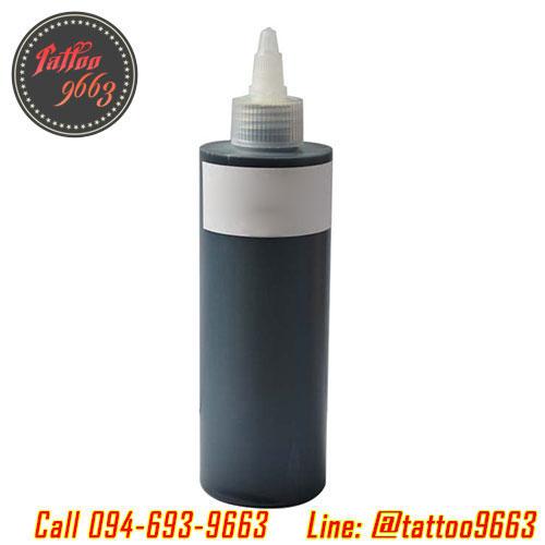 หมึกสักลาย สีสักลายสีดำ ขนาด 8 ออนซ์ Tattoo Ink (BLACK - 8OZ/245ML)