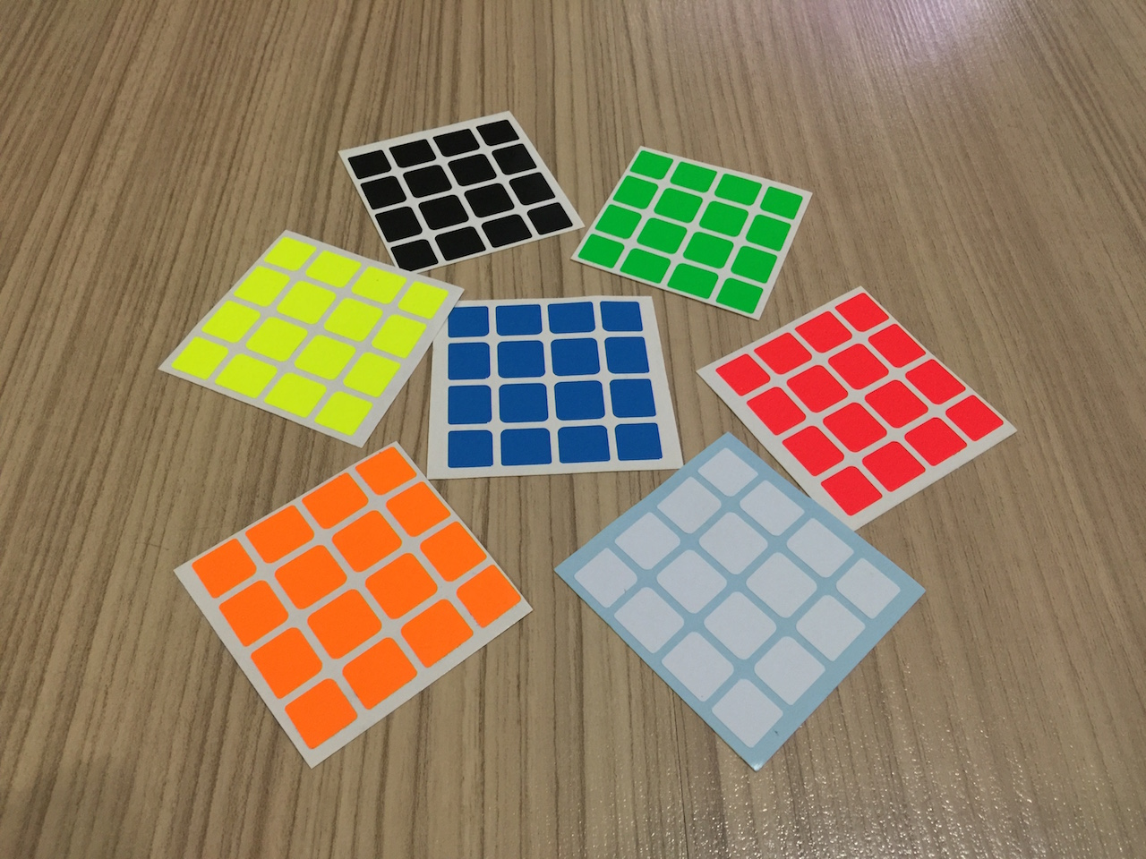 Stickers Z-Bright for MoYu AoSu