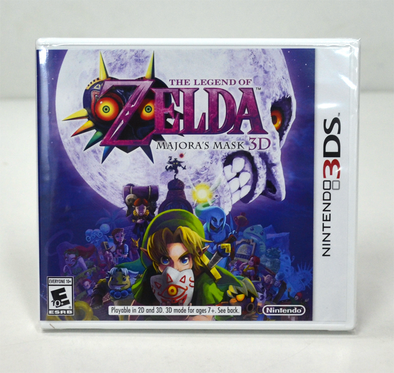 3DS (US) The Legend of Zelda: Majora's Mask 3D