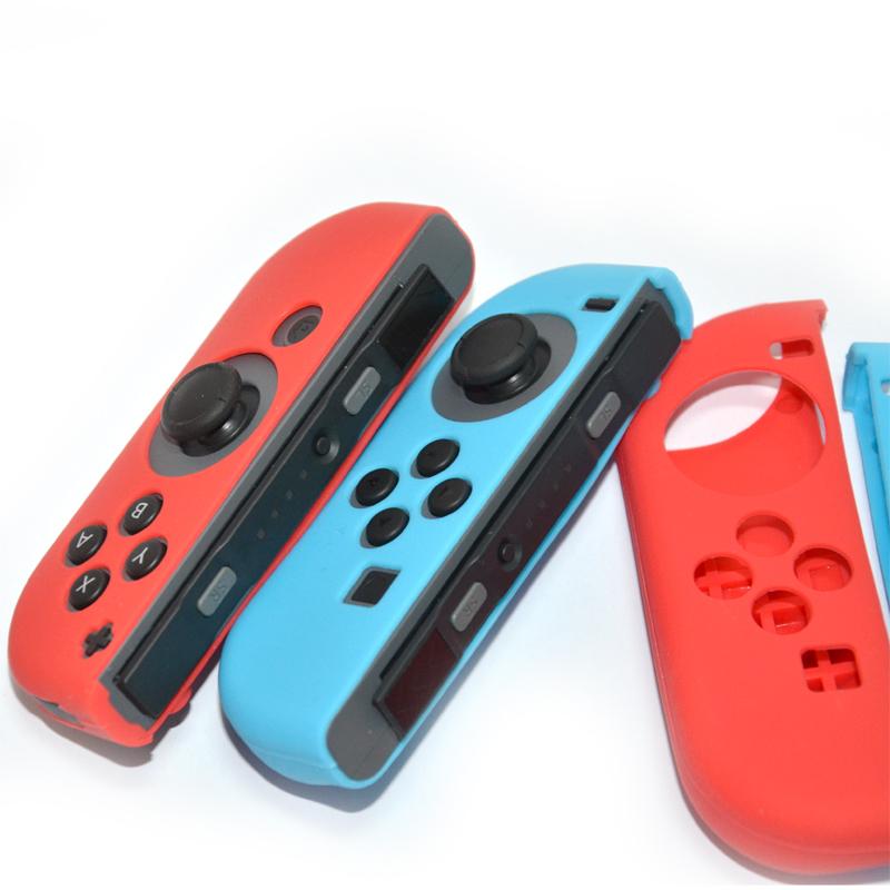 ซิลิโคนจอยคอน + ครอบปุ่มอนาล็อก Silicone Joy-Con for Nintendo Swtich ราคาชุดละ 299.- ส่งฟรี