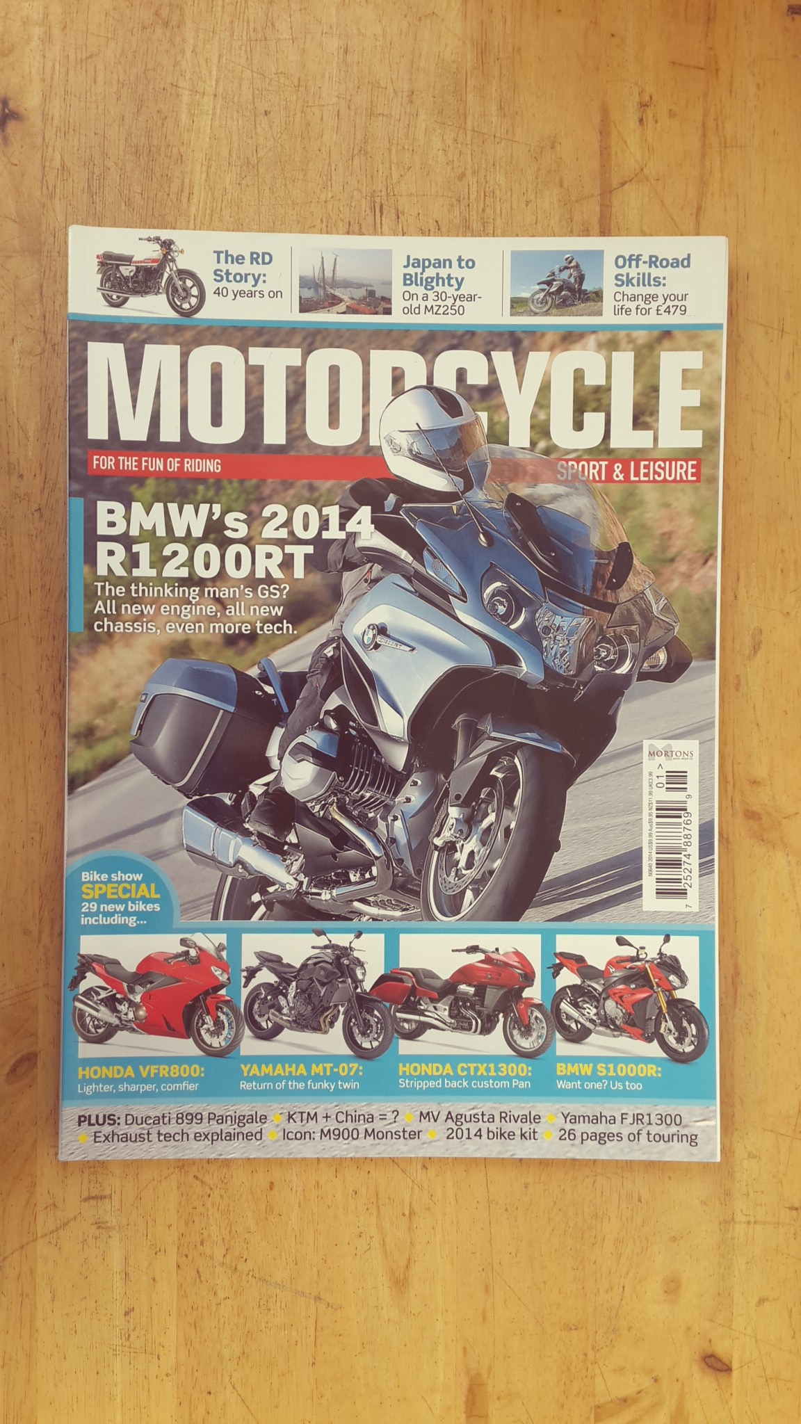 MOTORCYCLE SPORT&LEISURE : ISSUE 640 JANUARY 2014