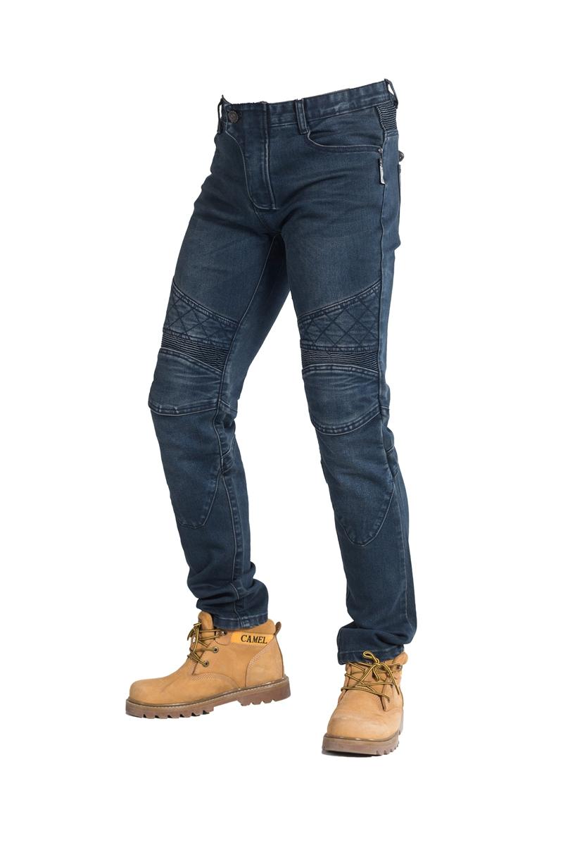 กางเกงขี่มอเตอร์ไซค์ ROCK BIKER blue