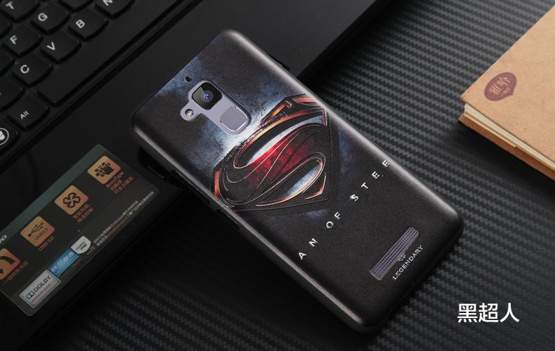 """เคส asus zenfone 3 Max 5.2"""" zc520tl TPU ลาย 3D SUPERMAN"""