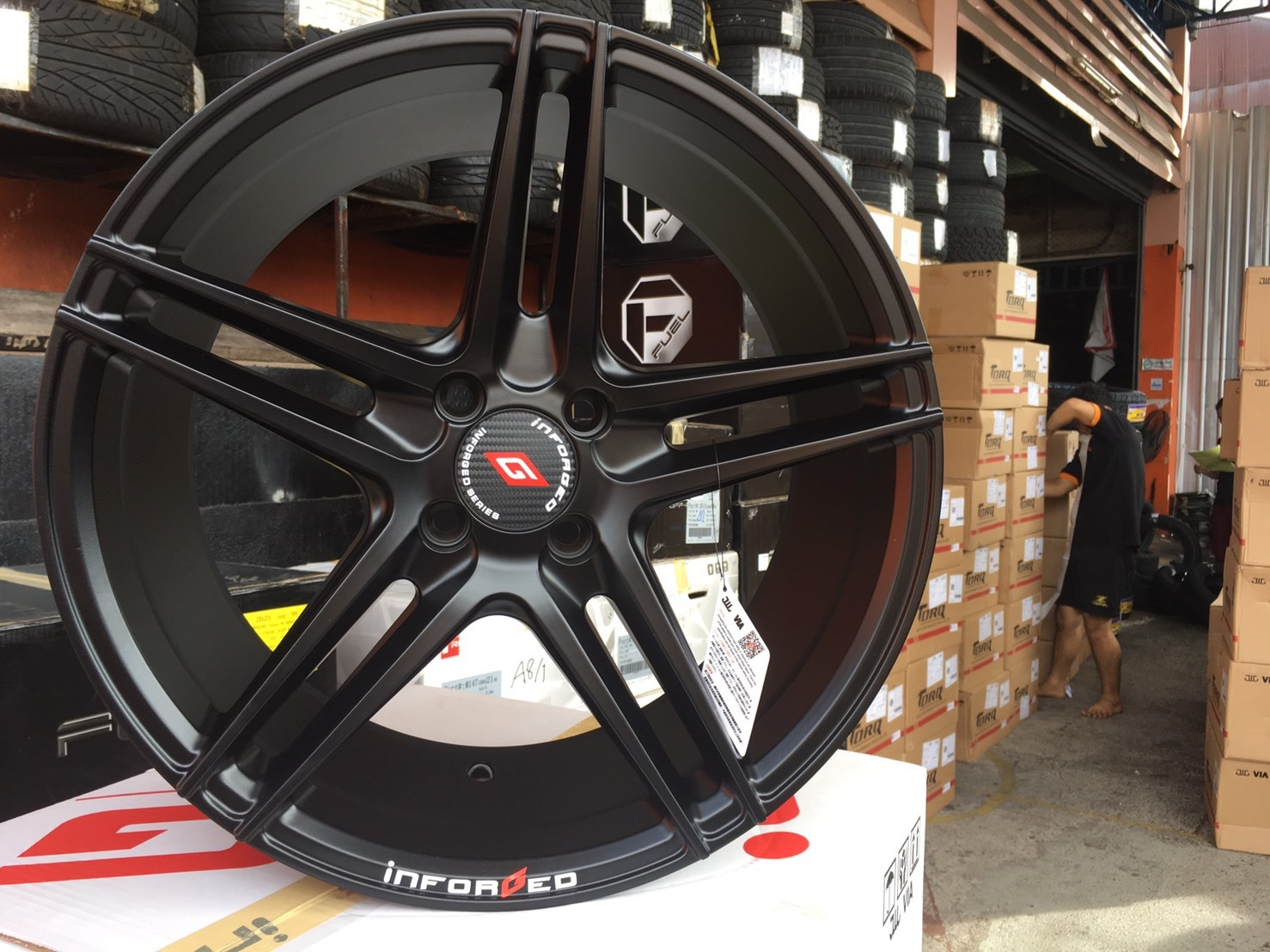 ล้อ in-forge IFG2 17X7.5 4X100 et+40