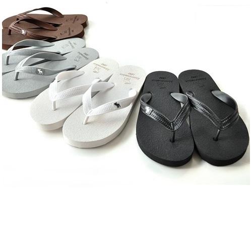รองเท้าแตะ รองเท้าลำลอง ผู้ชาย Abercrombie Fitch (AF) สี ขาว - ดำ