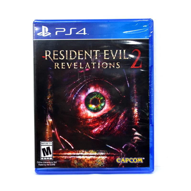 PS4™ Resident Evil: Revelations 2 zone 1 US, zone 2 EU , zone 3 Asia/ English