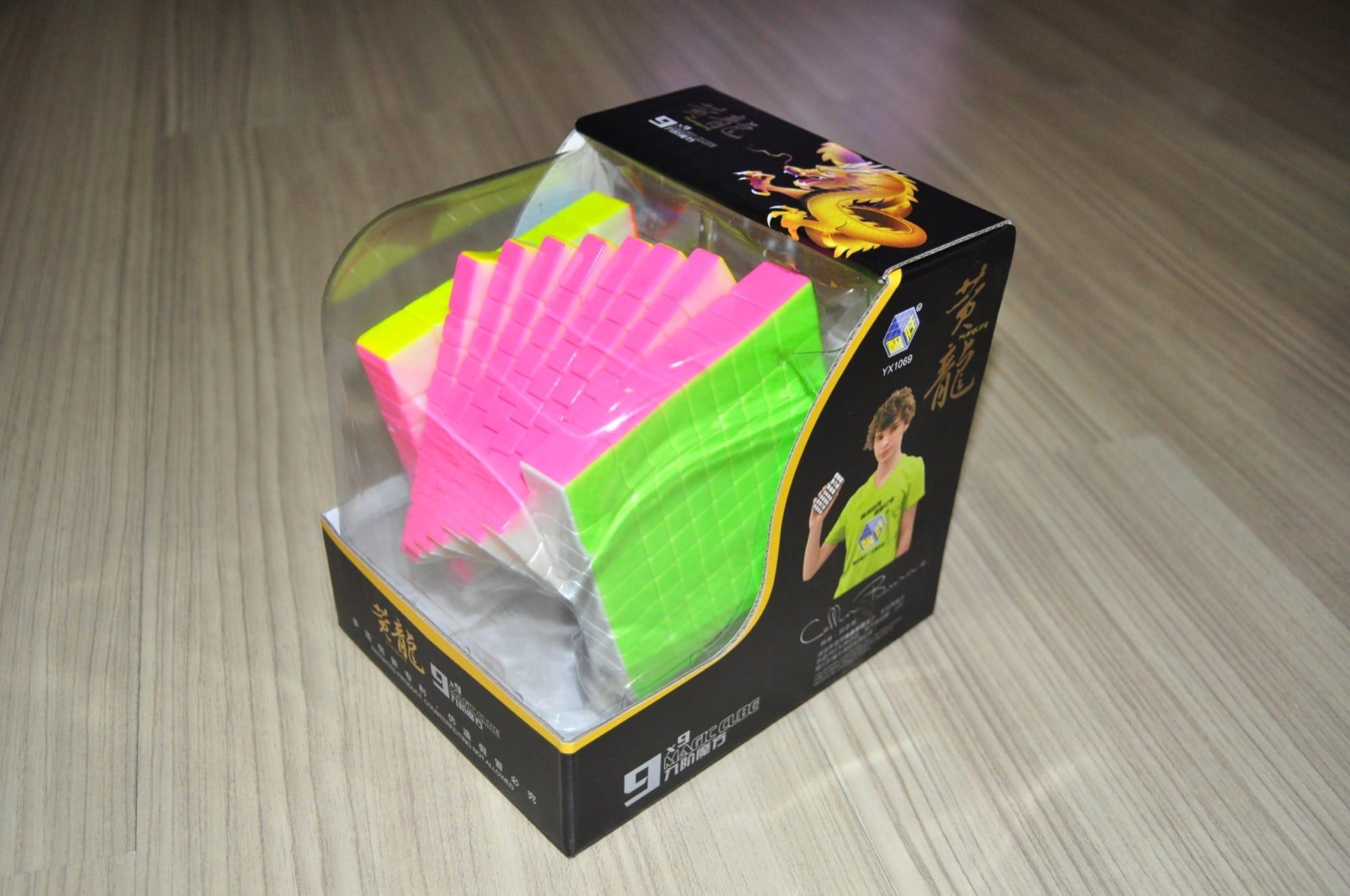 Yuxin HuangLong 9x9x9 Stickerless