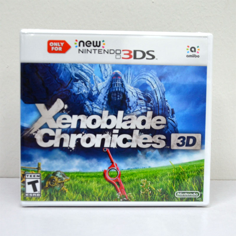 new 3DS (US) Xenoblade Chronicles 3D