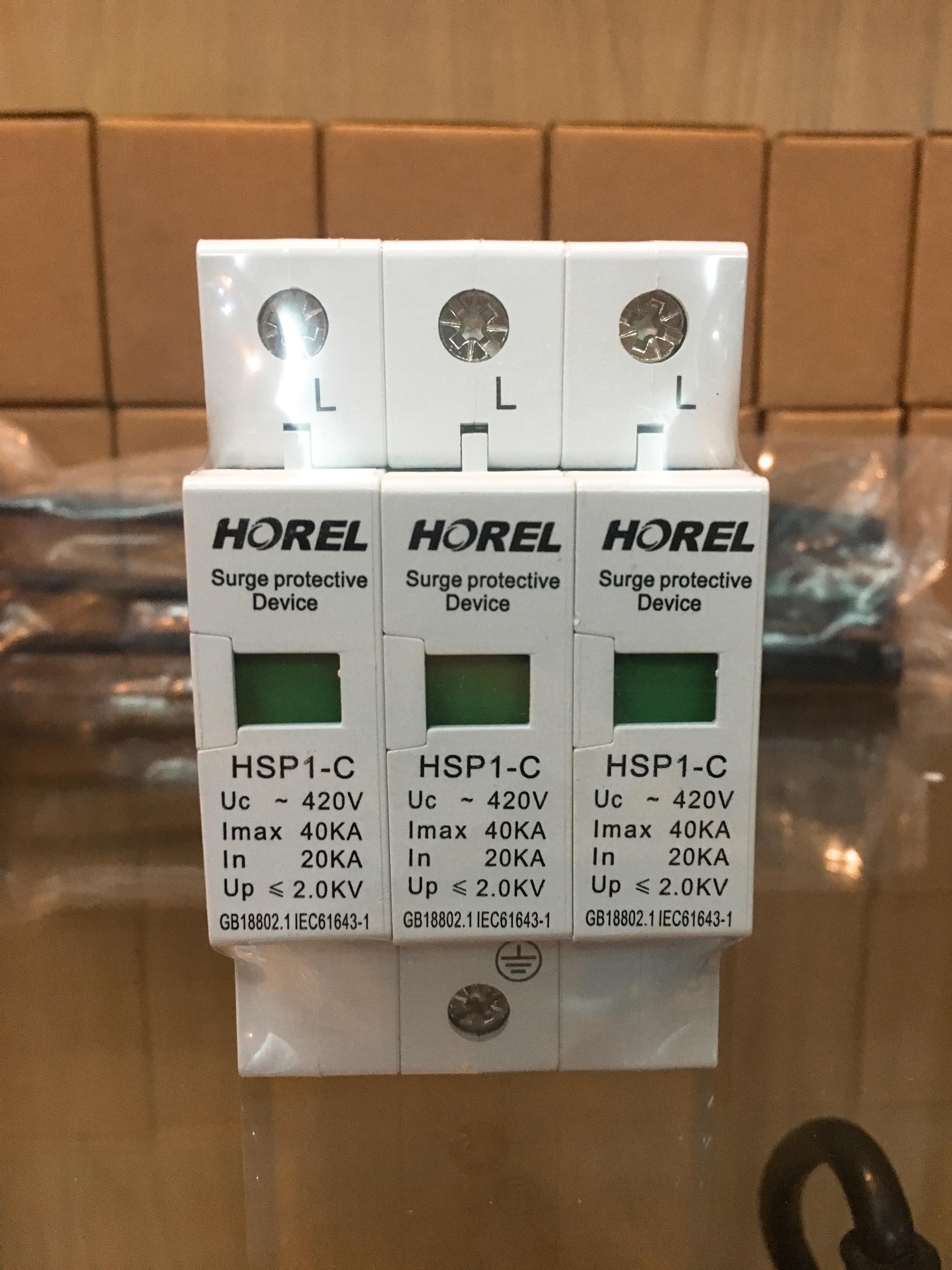 AC Power Surge Protective 415V 20A-40A 3P อุปกรณ์ป้องกันฟ้าผ่า AC 415 โวลต์ 20แอมป์ - 40แอมป์