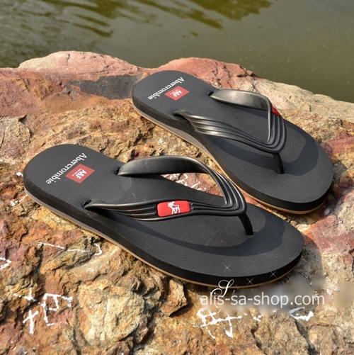 รองเท้าแตะ ผู้ชาย Abercrombie สีดำ ไซส์ 41