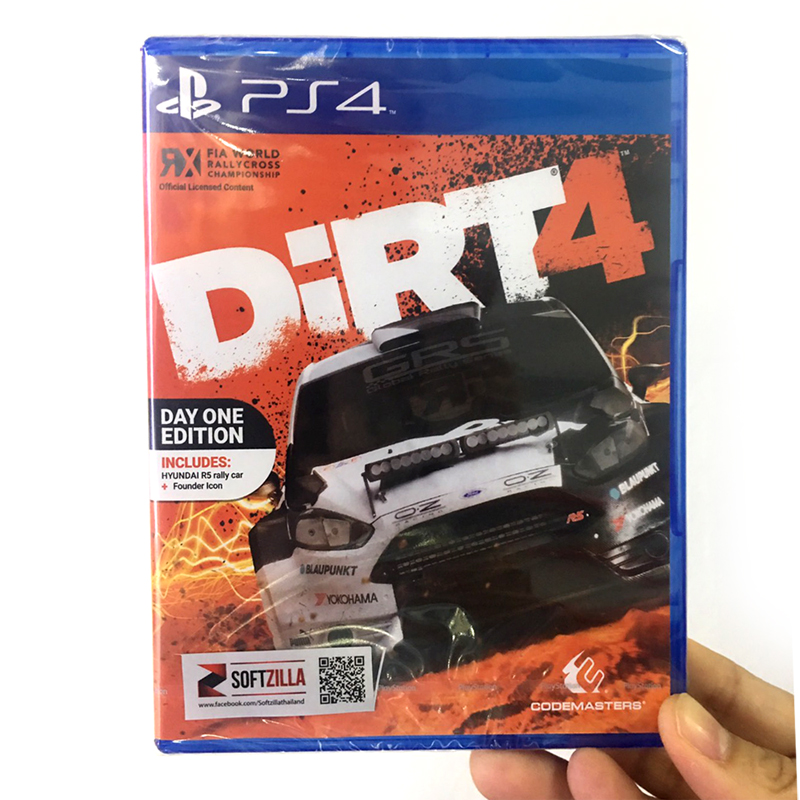 PS4™ DiRT4 Zone 3 Asia / English