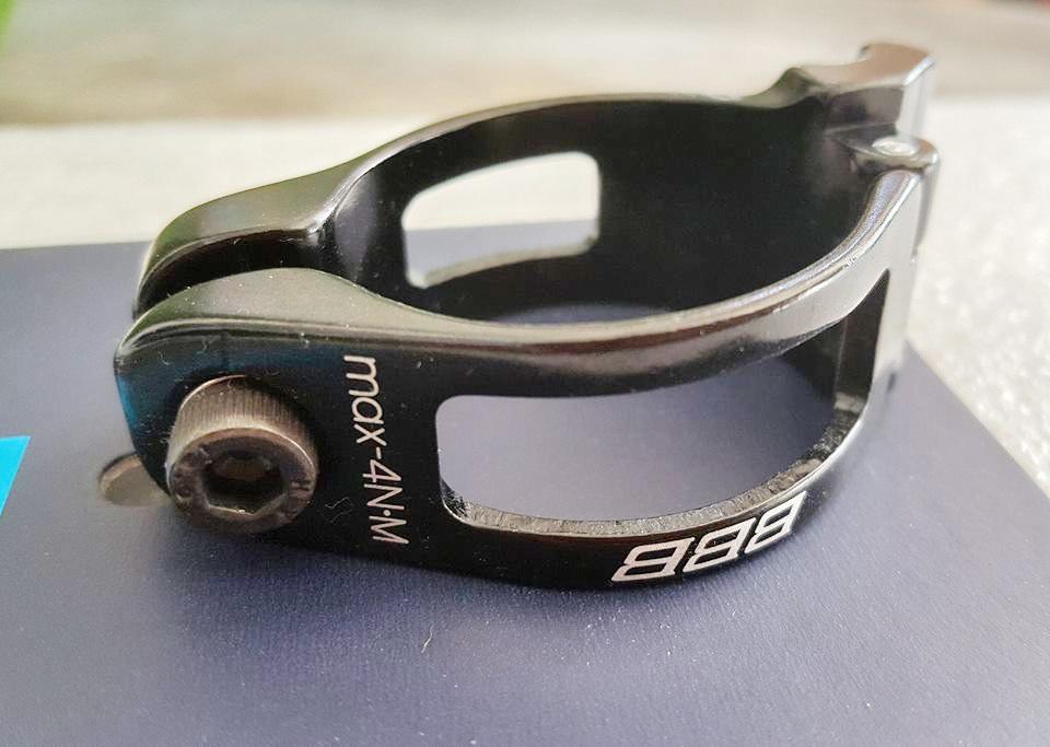 อะแดปเตอร์รัดสับจานหน้า BBB Made in Taiwan ขนาด 34.9
