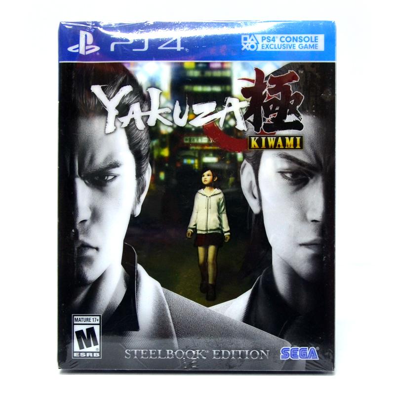 PS4™ Yakuza Kiwami : Steelbook Edition Zone 1 US / English ราคา 1190.-