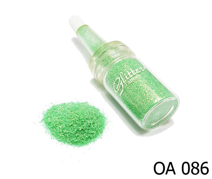 สี เขียวอ่อนประกายทองคริสตัล