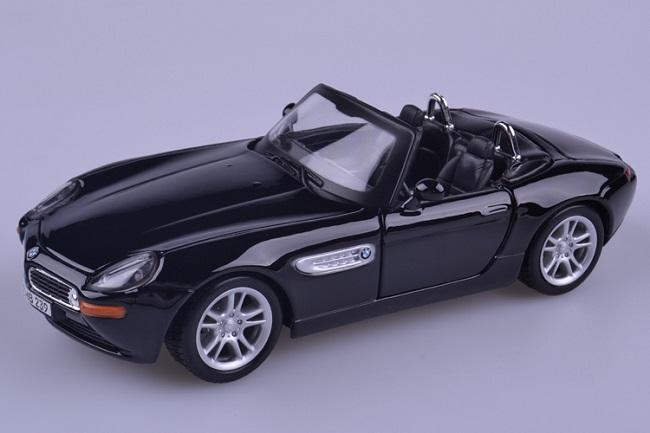 ขาย pre order โมเดลรถยนต์ BMW Z8 1:24 สีดำ มี โปรโมชั่น งานหายาก