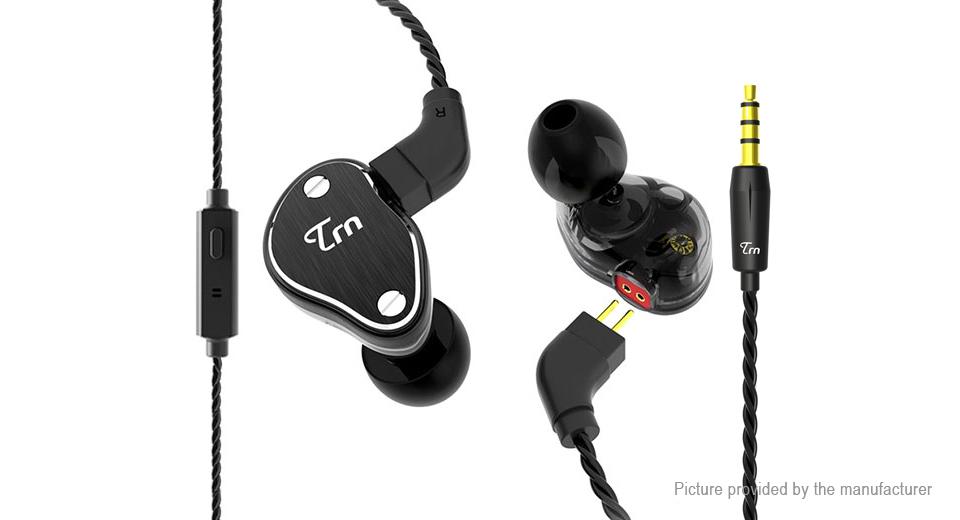 TRN V60 มีไมค์สีดำ