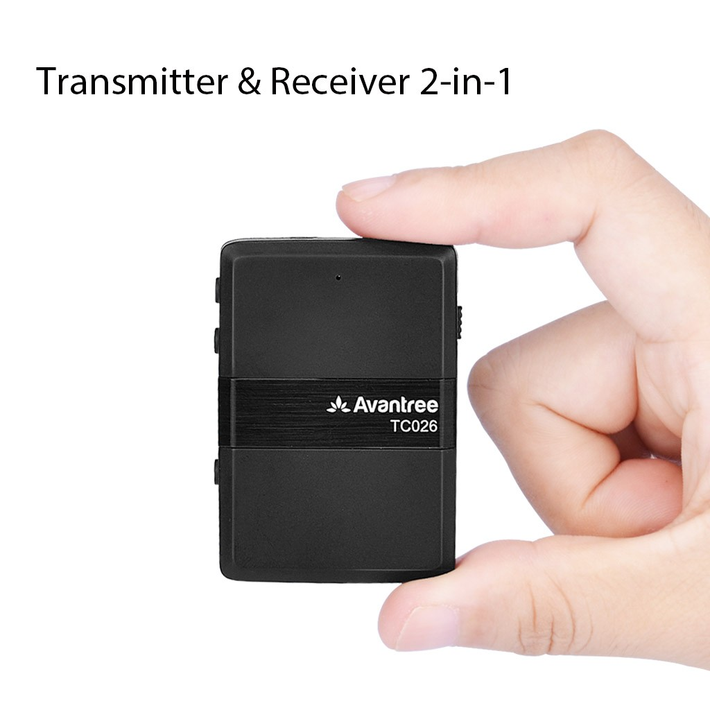 Avantree Bluetooth Transmitter and Receiver 2 in 1(TC026)