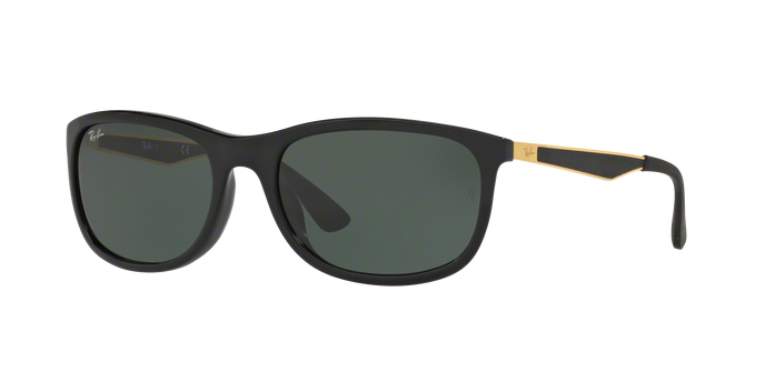 Ray Ban RB4267F 622771 SHINY BLACK Green