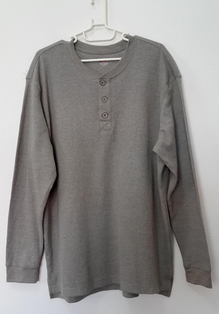 [พร้อมส่ง] เสื้อยืดคอกลมจากโรงงาน เกรดพรีเมี่ยม ไซส์ XL รอบอก 49 นิ้ว แฟชั่น สำหรับหนุ่มไซส์ใหญ่ แขนยาว เก๋ เท่ห์ - [In Stock] Large Size for Men Size XL Hitz Long-sleeved T-Shirt