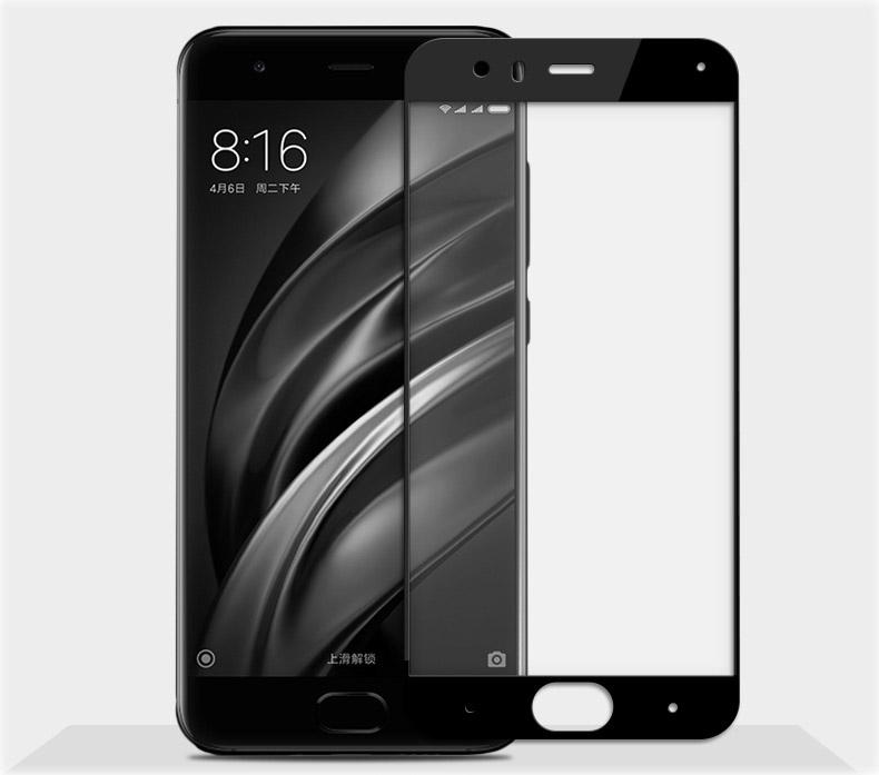 Xiaomi Mi6 ฟิล์มกระจกนิรภัยเต็มจอ Glass Pro 9H+ (ขอบดำ)