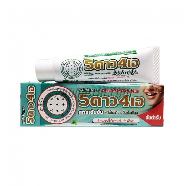 ยาสีฟัน 5 ดาว 4 เอ