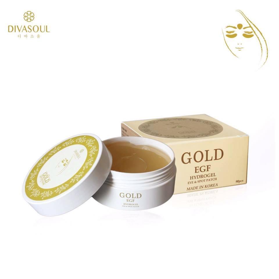 Divasoul Gold Eye Mask