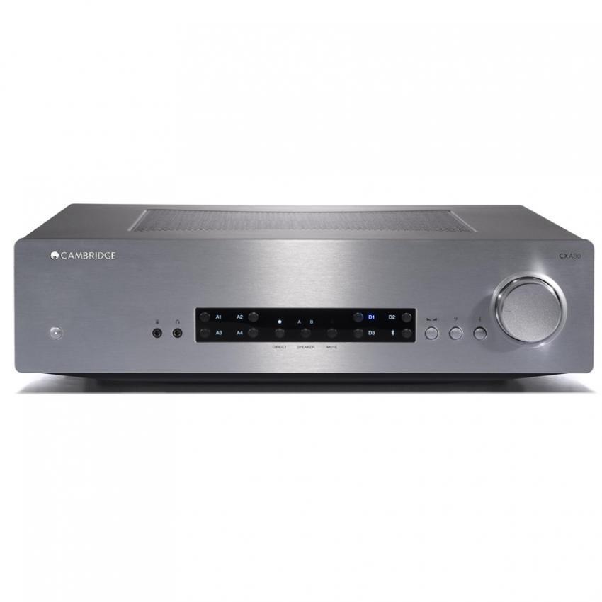 Cambridge Audio CXA80 Amplifier Silver