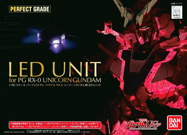 Body not included New Gundam PG 1//60 RX-0 Unicorn LED Unit Bandai