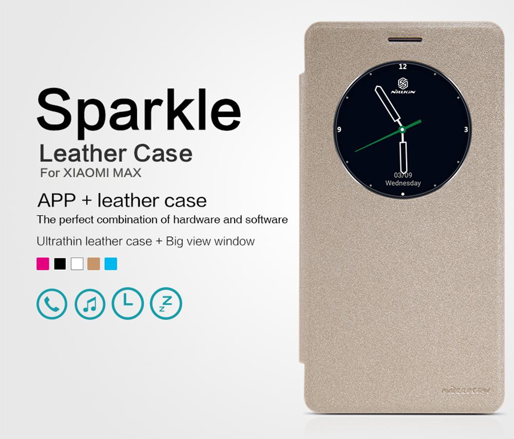 เคส Xiaomi Mi Max Nillkin Sparkle Leather Case