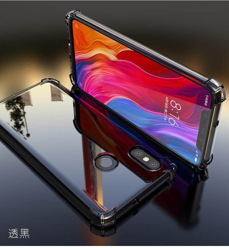 เคสใสกันกระแทก Xiaomi Mi8 PZOZ TPU Case (เคสนิ่ม)