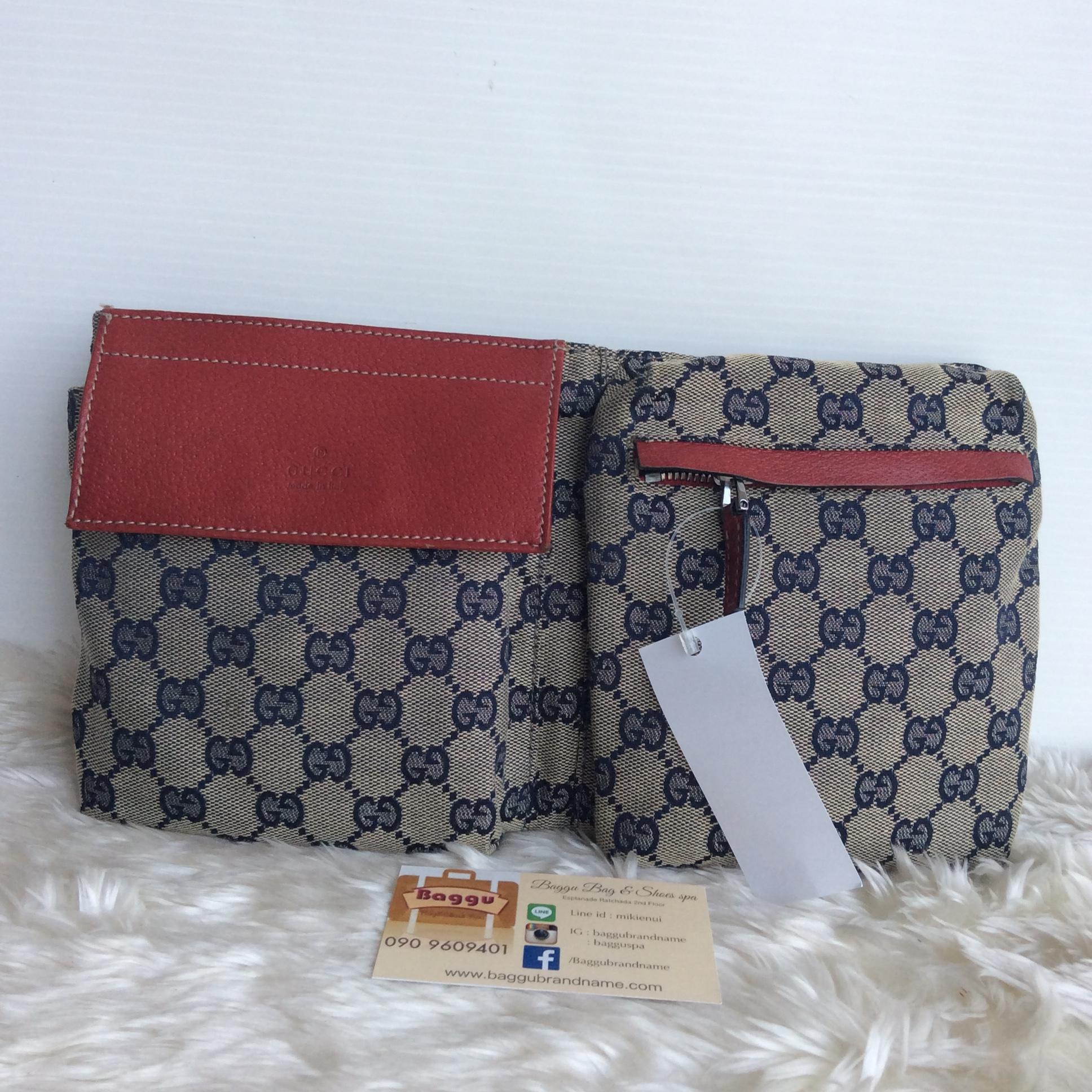 (SOLDOUT)Gucci Belt Bag Red