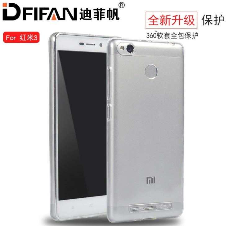 เคส Xiaomi Redmi 3s / Redmi 3 Pro DFIFAN TPU นิ่มแบบใส