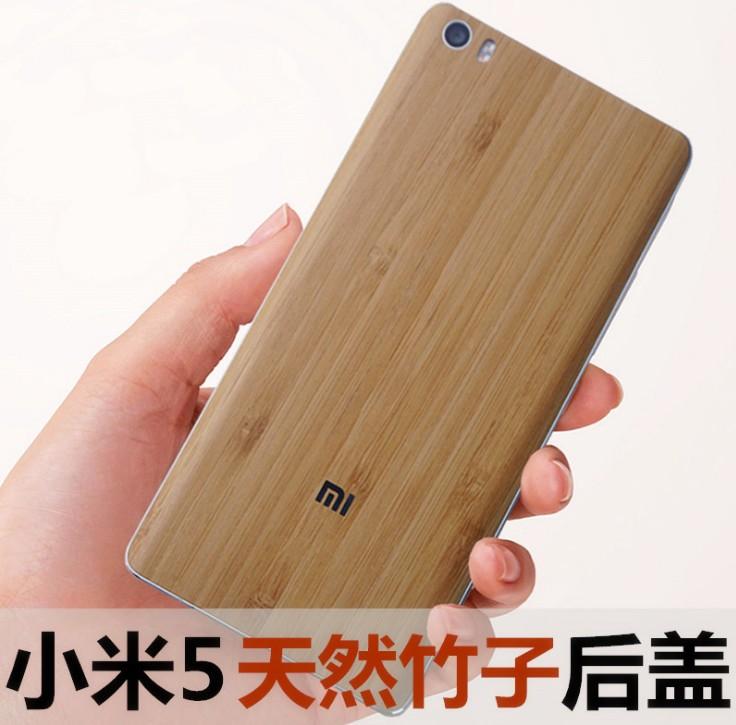 ฝาหลัง Xiaomi Mi5 ลายไม้ Bamboo
